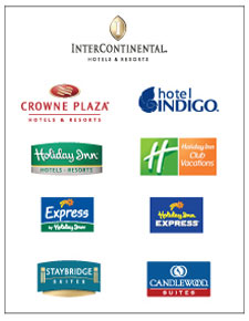 ihg hotel logos