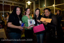 Prize winners at Mom's Nite Out