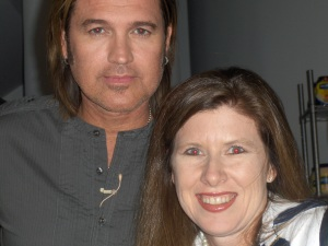 Billy Ray and me in NYC!