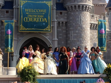 Disney merida stage
