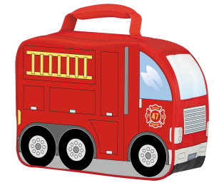GTB Fire Engine Soft Novelty Lunch Kit